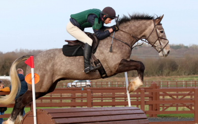 Back to Back wins for Caitie and Tango at Baileys Horse Feeds Flexi Eventing