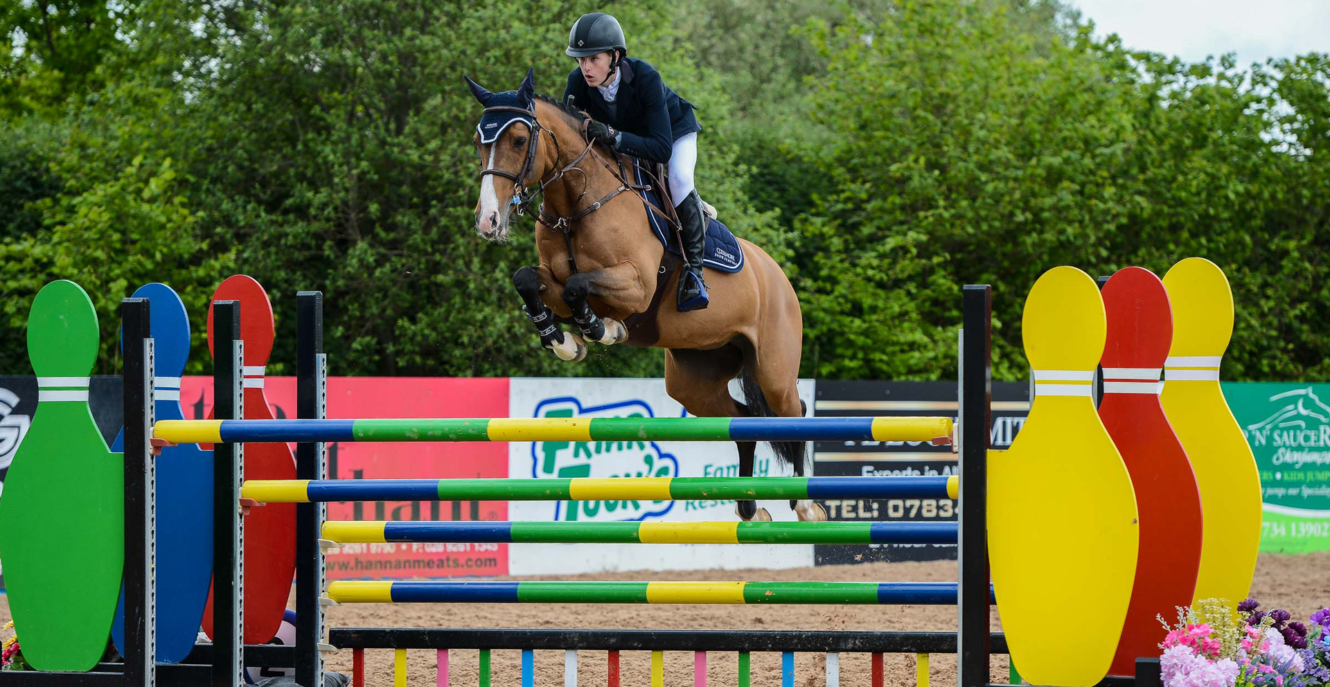02.01.2021 Unregistered Horse and Pony Jumping Winter Series